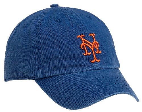 7407aaa82 Amazon.com : MLB New York Mets Franchise Fitted Baseball Cap, Royal ...