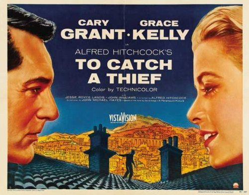 To Catch a Thief POSTER Movie (22 x 28 Inches - 56cm x 72cm) (1955) (Half Sheet Style (22 Half Sheet Movie Poster)