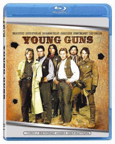 Young Guns [Blu-ray] Emilio Estevez Kiefer Sutherland Lou Diamond Phillips Lionsgate Home Entertainment