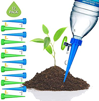 25X Watering Spike Automatic Drip Plant Waterer Pot Flower Garden Tool System