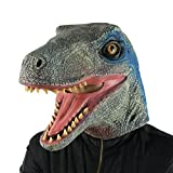 FantasyParty Halloween Costume Jurassic Dinosaur Head Mask Velociraptor Deal (Small Image)