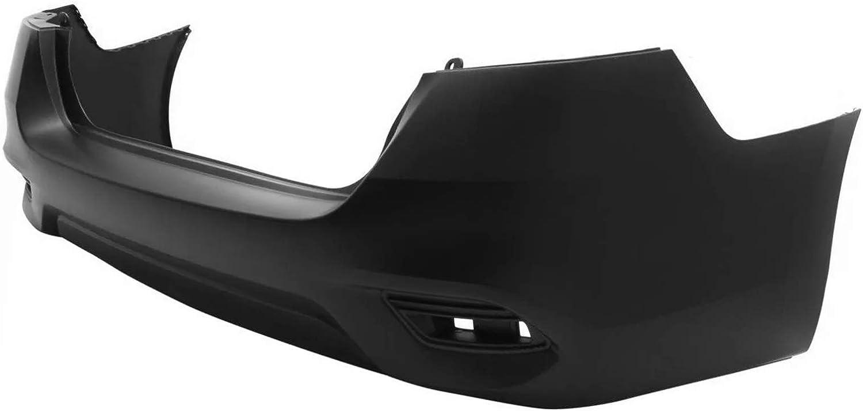 Primered MBI AUTO Rear Bumper Cover for 2016-2019 Nissan Sentra SR 16-19 NI1100313