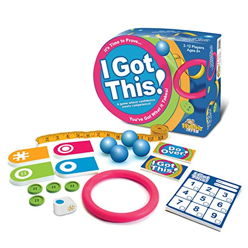 I Got This! is a challenging indoor toy for active kids to burn off energy