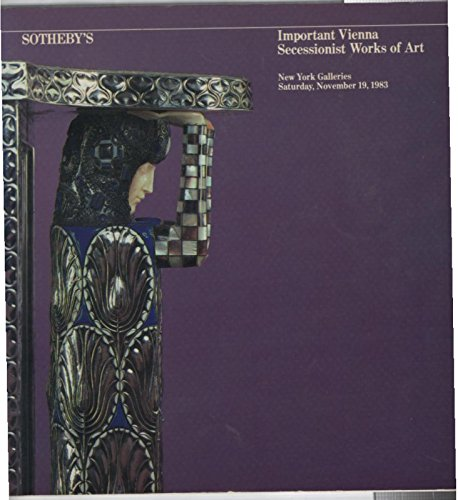 Important Vienna Secessionist Works of Art - Volume II - Sotheby