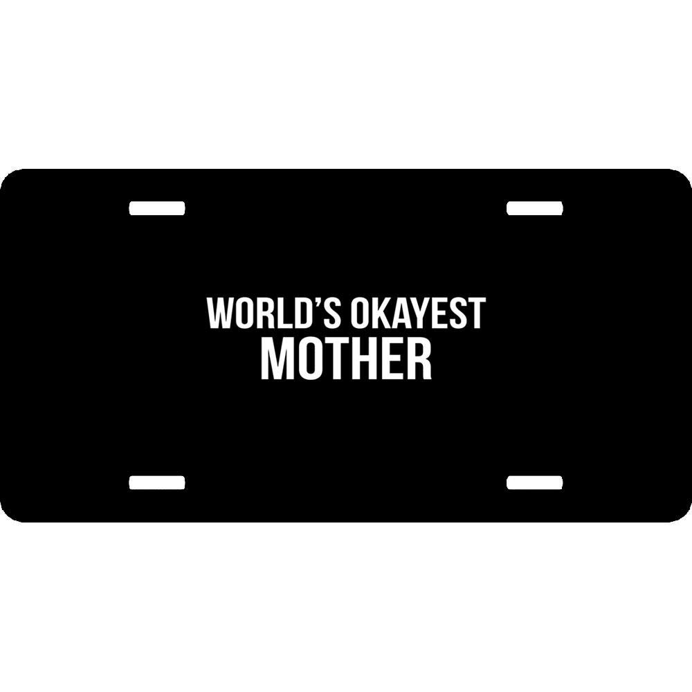 12 x 6 Inch URCustomPro Aluminum Metal License Plate Cover for US Vehicles Humor Funny Car Tag Sign Decoration for Women//Men
