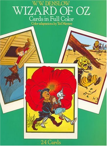 Wizard of Oz Postcards in Full Color: 24 Ready-to-Mail Cards (Card Books)