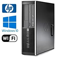 HP 8200 Elite Desktop - Intel Core i5 Quad 3.10 GHz, 8GB DDR3, 2x NEW 1TB HD, Windows 10 Pro 64-Bit, WiFi, DVD-ROM (Prepared By ReCircuit)