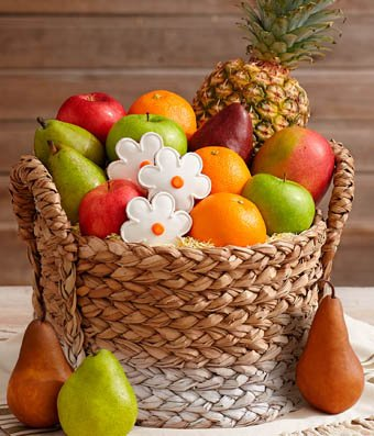 Gift Tower - Same Day Gift Baskets Delivery - Fresh Fruit Baskets - Fruit Basket Delivery - Organic Fruit Baskets - Best Gift Baskets