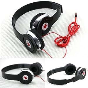 unihandbag Foldable Comfortable Music Earphone PC MP4,3.5mm Sockets Stereo Headphone HOT