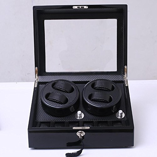 KAIHE-BOX Watch Winders Storage Display Box Case Organizer Jewellery Wristwatch with Cushion Watches drawer Watches for Men High Grade Luxurious Cover Box/Jewelry Drawer (electric motor shaking) 05 by KAIHE-BOX (Image #1)