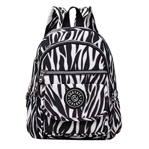 Kids Student School Backpack Women Men Fashion Large Capacity Backpack Nylon Waterproof Travel Bags Schoolbag Under 15