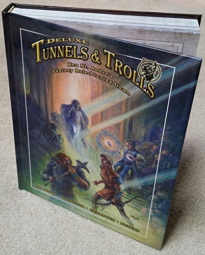 Core Rulebook Deluxe Tunnels and Trolls RPG Hardcover Edition