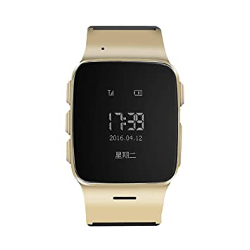 TOPCHANCES Elderly Kids Smart Watch with Dual Way Call SOS Anti-Lost GPS Pedometer WiFi Tracking Remote Monitor Watches for iPhone Android ...