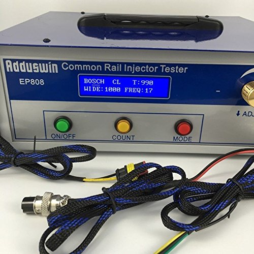 EP808 Diesel Common rail injector tester + S60H fuel nozzle validator tool by Adduswin (Image #4)