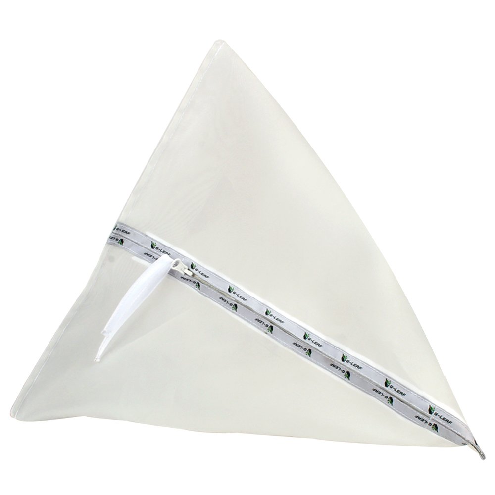 Bolsa de Filtro para Extractor de Hierbas G-LEAF Bolsa de 5 galones 220u Triangular con Cierre de Burbuja para extracci/ón