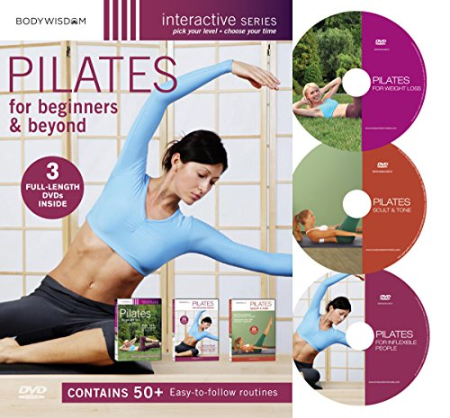 Pilates for Beginners DVD Set: includes Pilates Workouts for Weight Loss