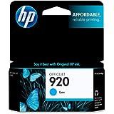 HP 920 Cyan Original Ink Cartridge For HP Officejet 6000, 6500,7000, 7500