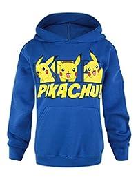 Official Pokemon Pikachu Boy's Hoodie