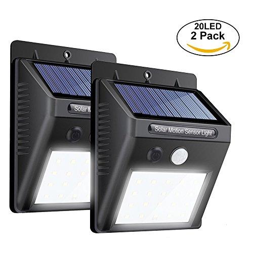Cheap  Fanng Wireless Solar Motion Sensor Light Powerful 20 LED Outdoors Waterproof Security..