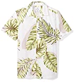 #6: 28 Palms Men's Standard-Fit 100% Cotton Hawaiian Shirt