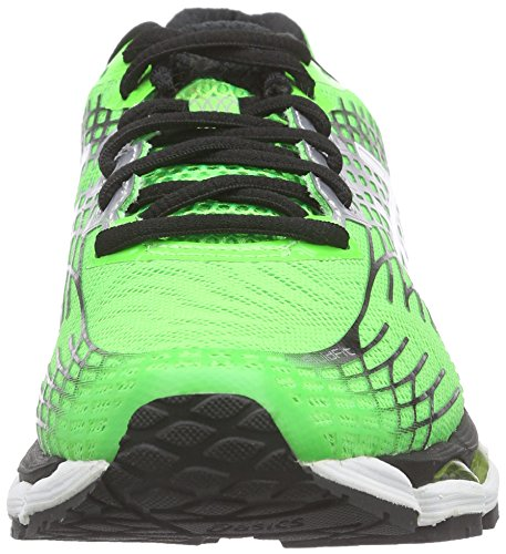 Asics Gel-nimbus 17, Herren Laufschuhe Grün (Flash Green/White/Black 8501)