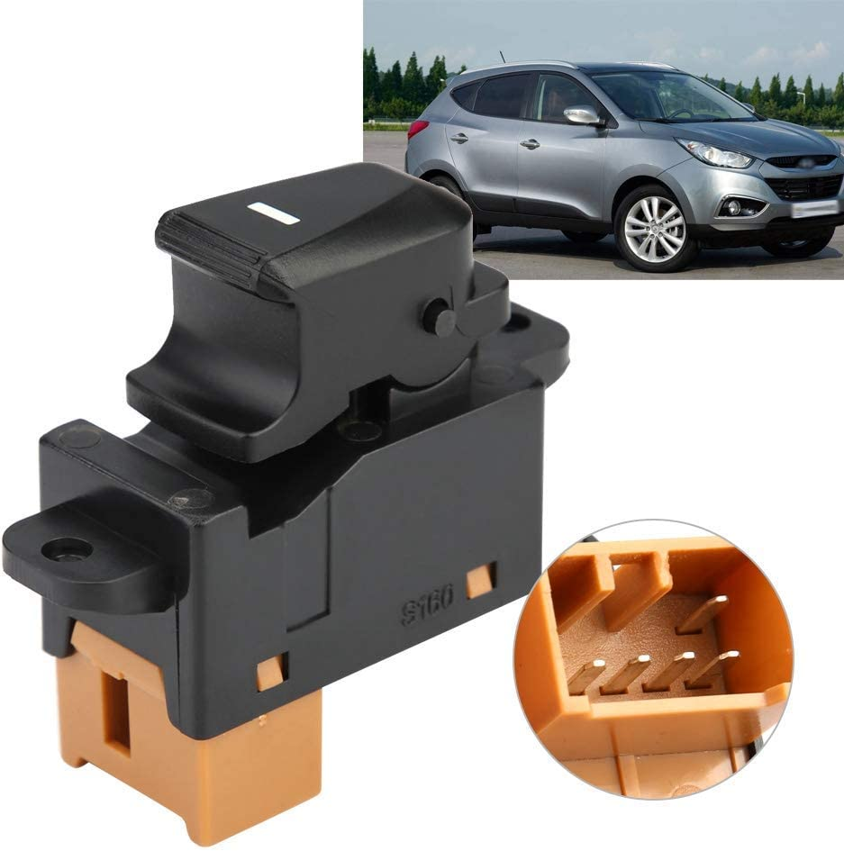 Car styling passenger side electric window regulator adjuster switch button 93580-2Z000 for modern IX35