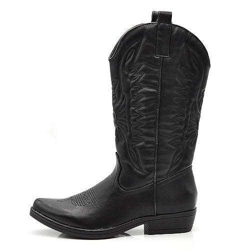 Western Scarpe Stivaletti If Cowboy Da Stivali Punta Fashion Donna 80wPkXOn