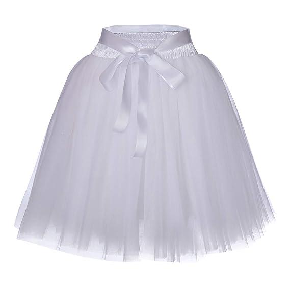 c678d4eeda9301 Femme Jupon Tulle Grande Taille Elastique Style Audrey Hepburn ...