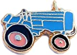 Tractor in Blue Floating Locket Charm