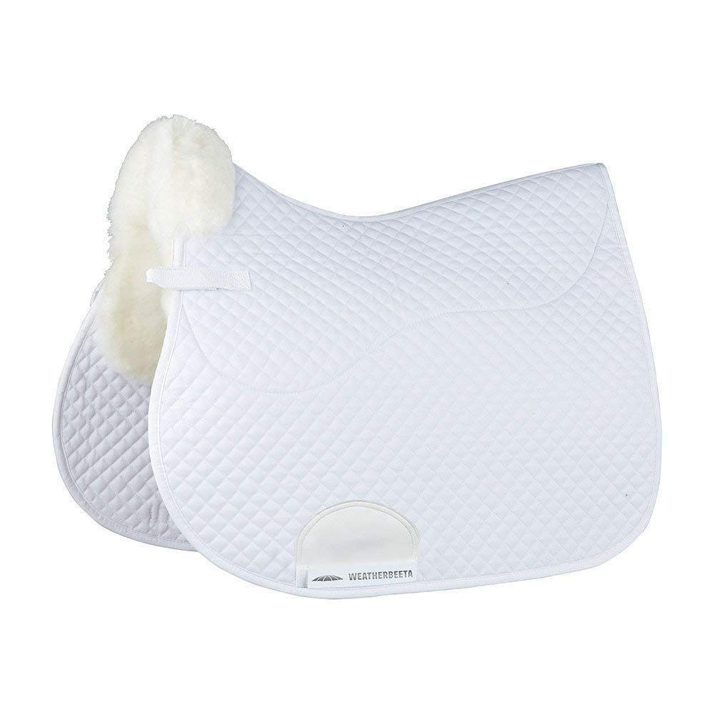 White 17.5\ White 17.5\ Weatherbeeta Merino High Wither All Purpose Saddle Pad