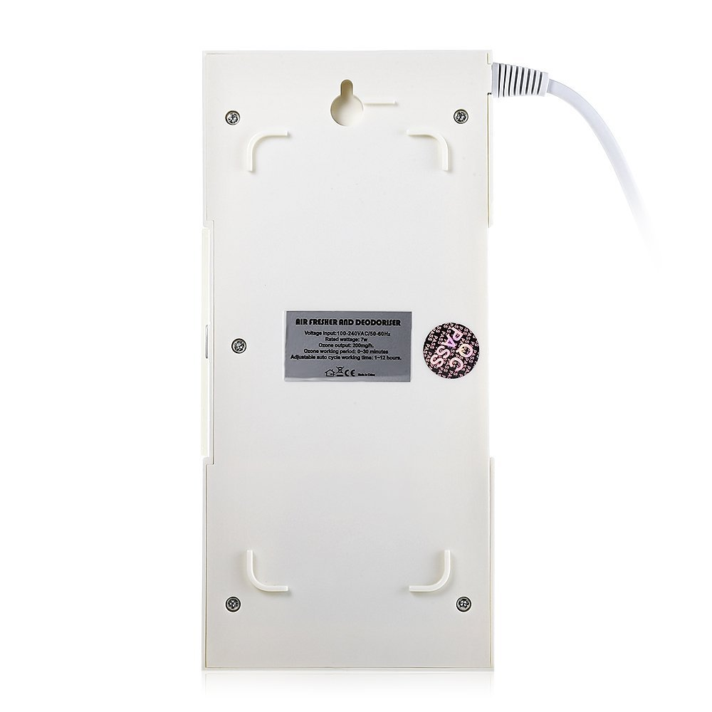 HAPQIN H-100 Home Air Purificatore dozono Deodorante Ozono Ionizzatore Generatore Sterilizzazione Filtro germicida