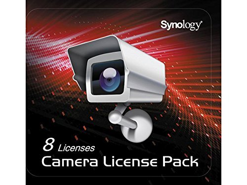 Synology CLP8 8PK CAMERA LICS 1 CODE TO CONNECT 8 IP CAMERAS by Synology (Image #1)