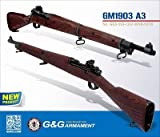 G&G Real Wood Full Metal GM1903 A3 Gas/CO2 Bolt Action Rifle