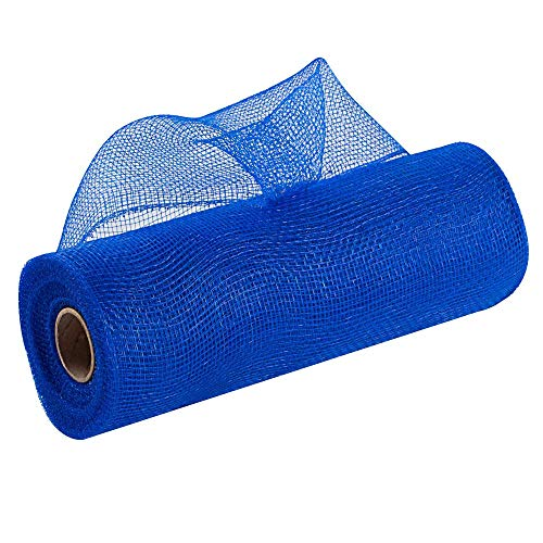 Royal Blue Easter Deco Mesh - 10