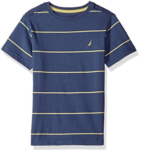 Nautica Short Sleeve Stripe Crewneck