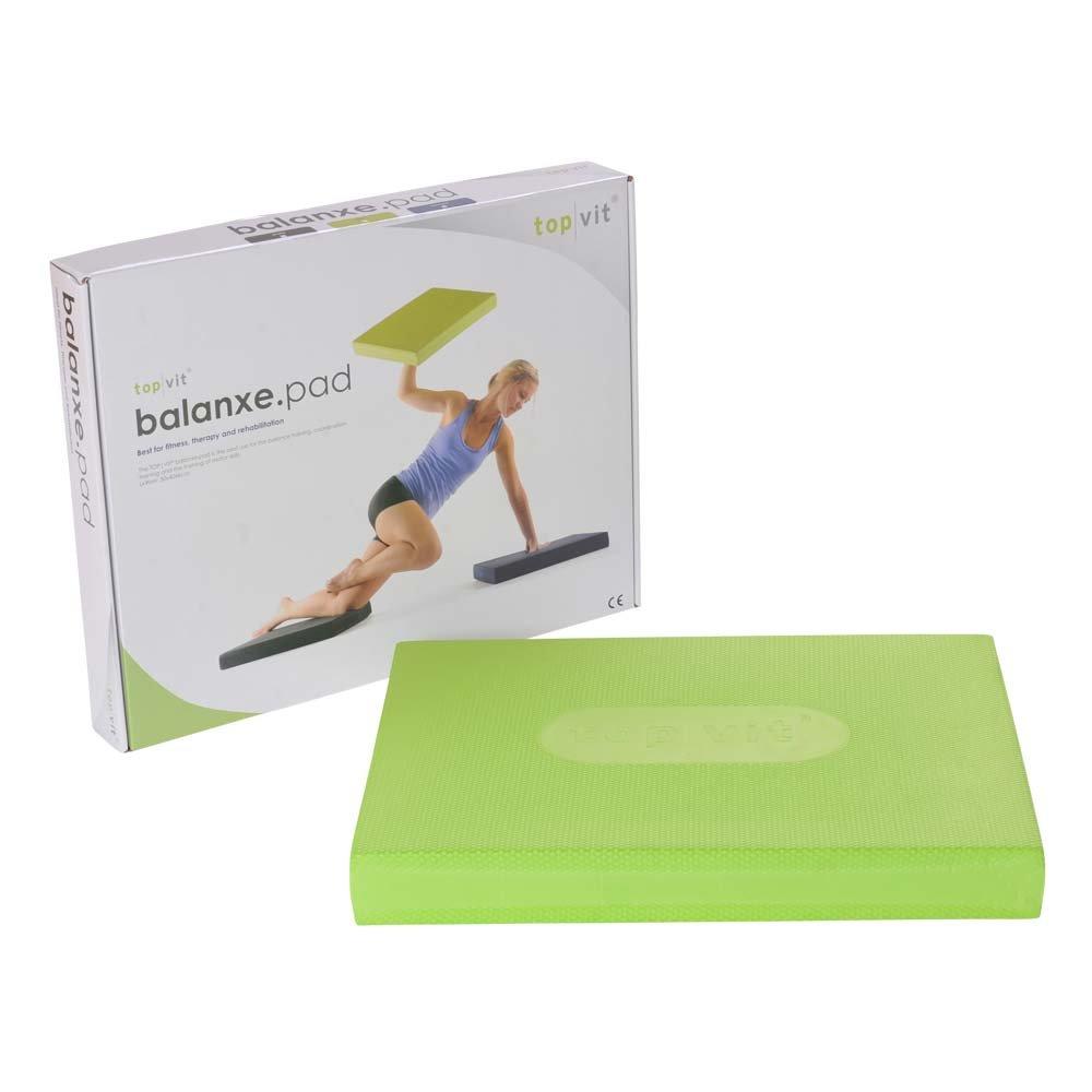 1x Balance Pad top vit® balanxe.pad, Sitz-Kissen, Gleichgewichtstrainer, apple