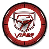 Dodge Viper Lighted Wall Clock 14 x 14 Inches Review
