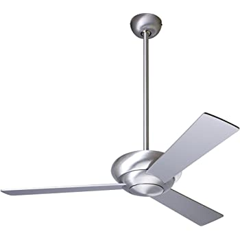 42 Quot Modern Fan Altus Gloss White Hugger Ceiling Fan