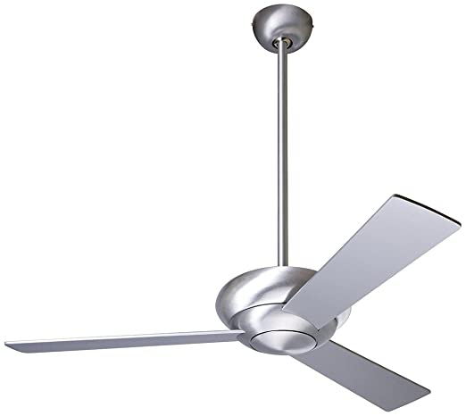 42 modern fan altus aluminum finish ceiling fan amazon 42quot modern fan altus aluminum finish ceiling fan aloadofball Image collections