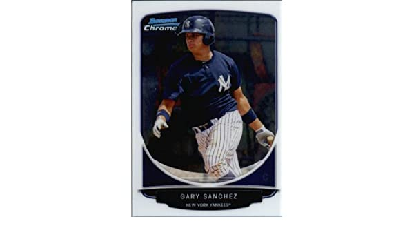 Verzamelingen Verzamelkaarten: sport 2013 Bowman Draft Picks & Prospects Top TP-31 Gary Sanchez New York Yankees Card