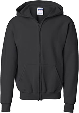 Childrens Gildan Hoodie Girls Boys Hoody Sweater School Uniform Coat Jacket SALE