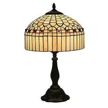 LXQIY Tiffany Style Lámparas de Mesa Moderno Decoración ...