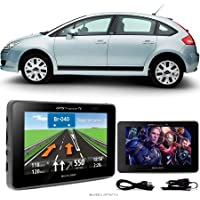 Navegador Gps Automotivo CITROEN C4 Tela 4,3 Touch Voz C/TV FM Oferta