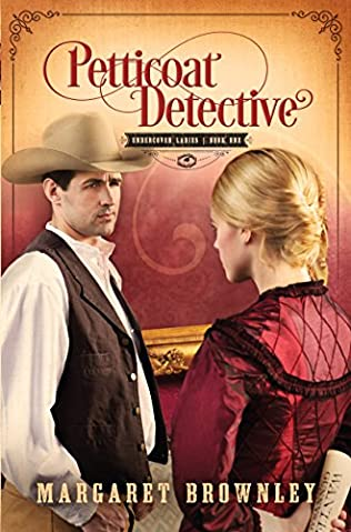 book cover of Petticoat Detective