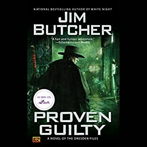 Proven Guilty Audiobook