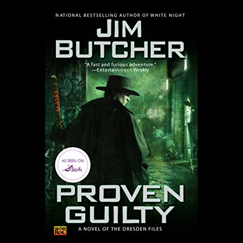 Bargain Audio Book - Proven Guilty