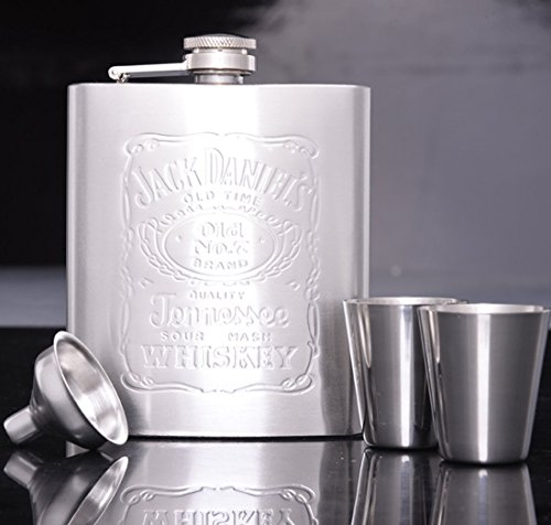 LifeVV-Stainless-Steel-Flask-Gift-Set-7-Ounce-Mens-gifts