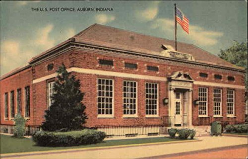 Incredible Amazon Com The U S Post Office Auburn Indiana Original Download Free Architecture Designs Scobabritishbridgeorg