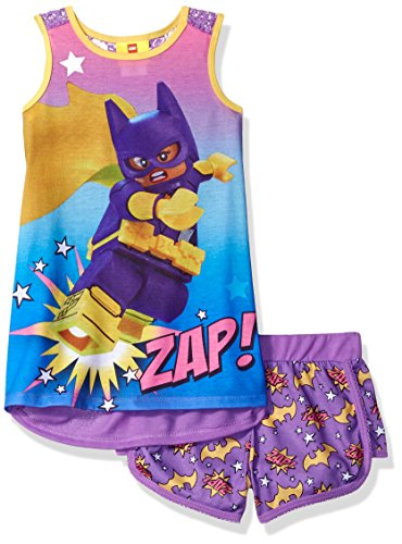 LEGO Batman Big Girl's Batgirl Short Pj Set