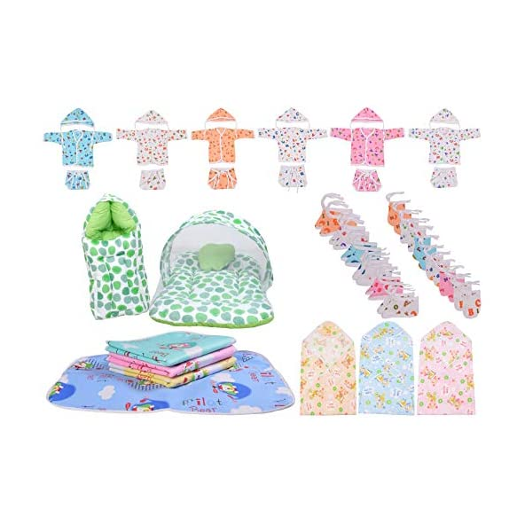 Baby Fly Baby Combo Gift Set Of New Born Baby Essential Products (0-6 Months)